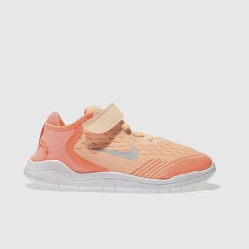 Nike Peach Free Rn 2018 Girls Junior