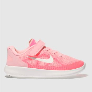 Nike Pink Free Run 2017 Girls Junior