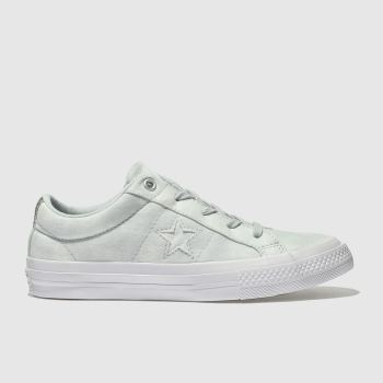 Converse Green One Star Ox Girls Junior