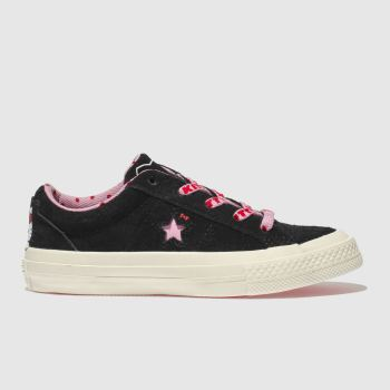 Converse Black All Star Hello Kitty Girls Junior