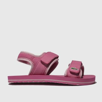 Lacoste Pink Sol Girls Junior
