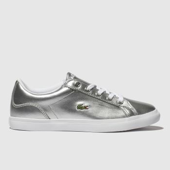 Lacoste Silver Lerond Girls Junior