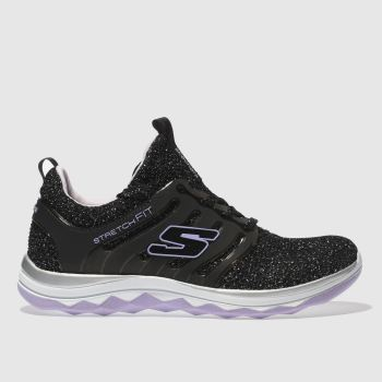 Skechers Black Diamond Runner Girls Junior