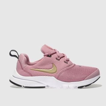 Nike Pink PRESTO FLY Girls Junior