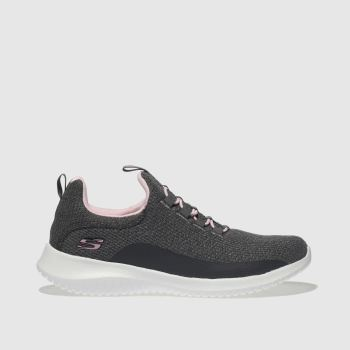 Skechers Grey Ultra Flex Girls Junior