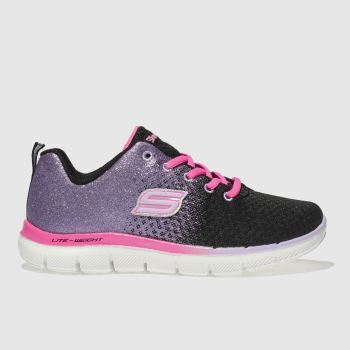 Skechers Black & Purple SKECH APPEAL 2.0 Girls Junior