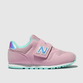 New Balance Pale Pink 373 Girls Junior