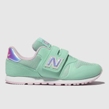 New Balance Turquoise 373 Girls Junior
