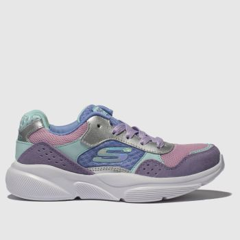 Skechers Lilac Meridian Charted Girls Junior