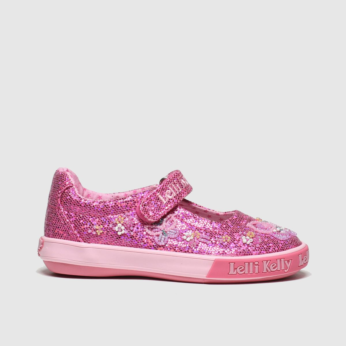 Lelli Kelly Pink Willa Dolly Trainers Junior