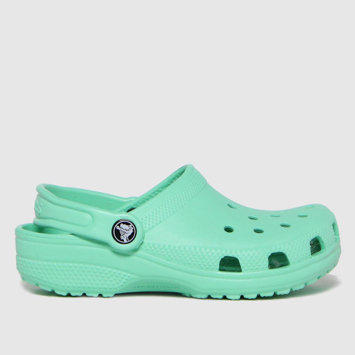 Crocs Green Classic Clog SANDAL Junior