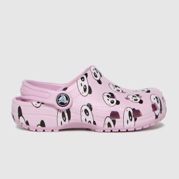 crocs Pink Classic Clog MädchenJunior