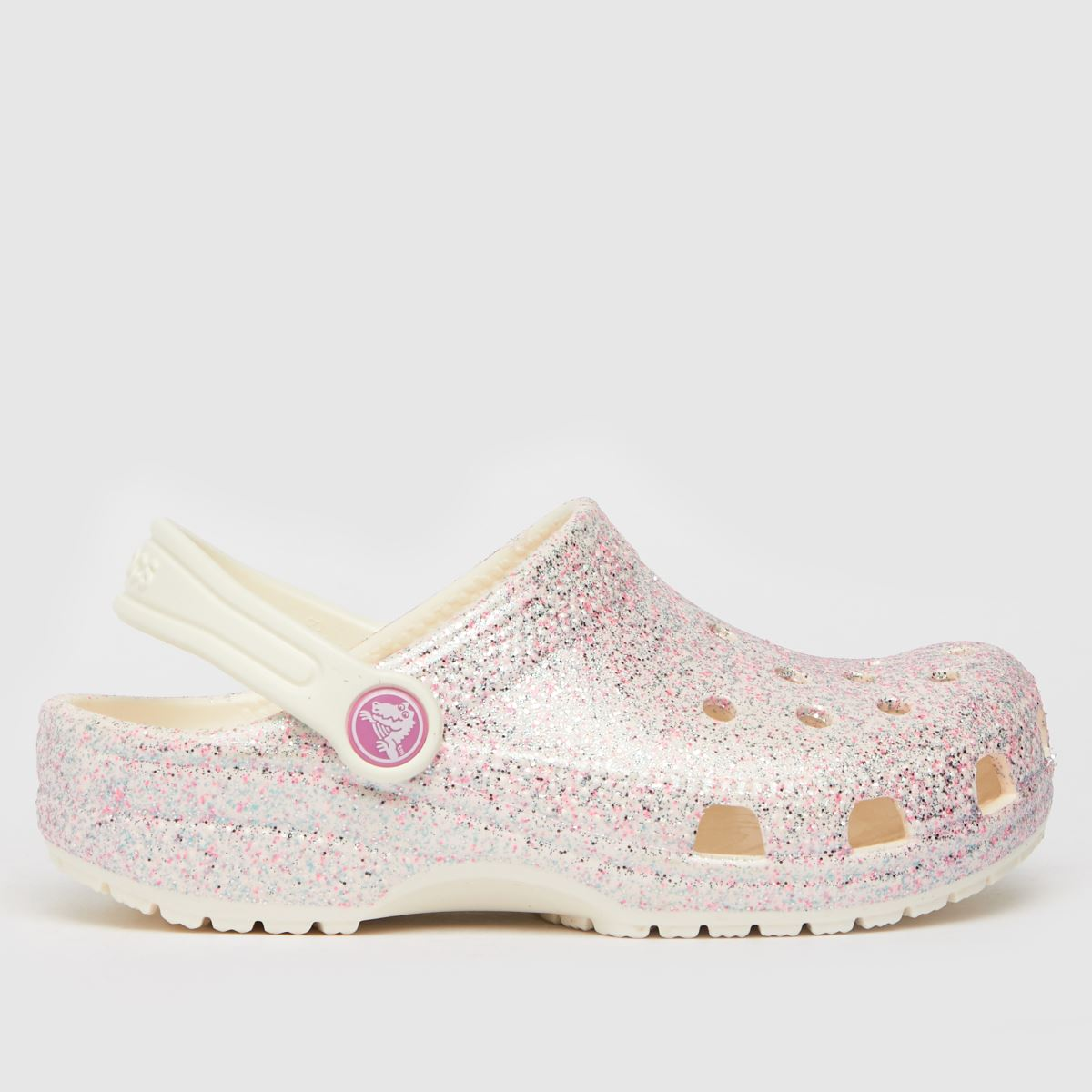 Crocs Multi Classic Glitter Trainers Junior