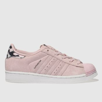 Adidas Pink Superstar Girls Junior