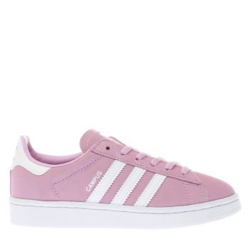 ADIDAS PINK CAMPUS TRAINERS JUNIOR