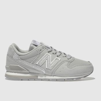 New Balance Grey 996 Girls Junior