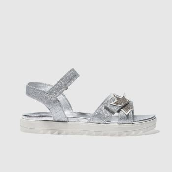 LELLI KELLY SILVER TANIA TRAINERS JUNIOR