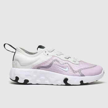 Nike lilac renew lucent trainers junior