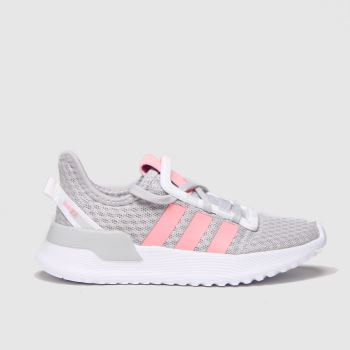 adidas Light Grey U_path Run Girls Junior