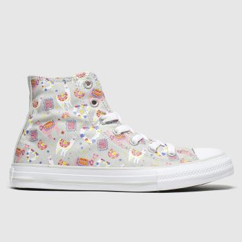 Converse Multi All Star Hi Llama Love Girls Junior
