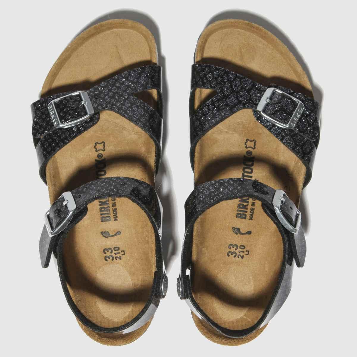 Birkenstock Black Rio Sandals Junior
