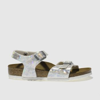 Birkenstock Silver RIO Girls Junior