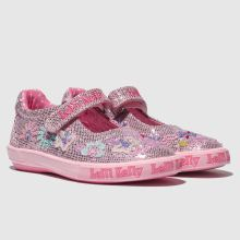 e8a657e67f442 Girls pink lelli kelly summer dolly trainers | schuh