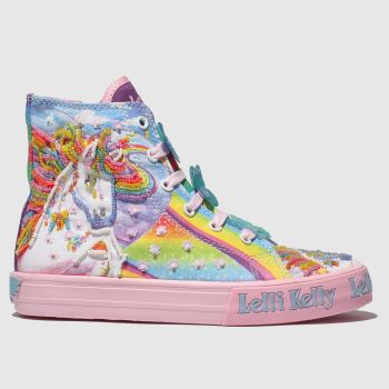 Lelli Kelly Multi HI TOP TRAINER Girls Junior