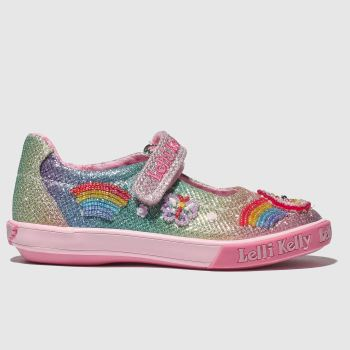 Lelli Kelly Pink-Blau Rainbow Sparkle Mädchen Junior