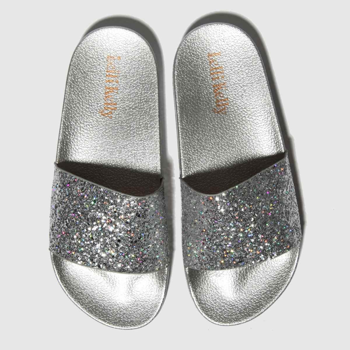 Lelli Kelly Silver Marina Sandals Junior