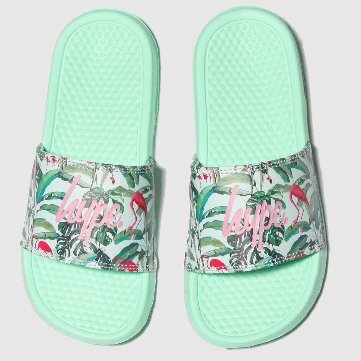 Hype Multi Flamingo Paradise Sandals Junior