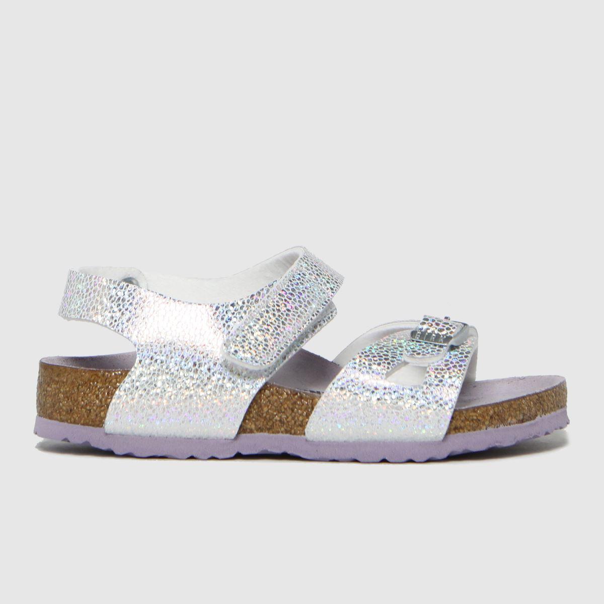 BIRKENSTOCK Silver Colorado Sandals Junior