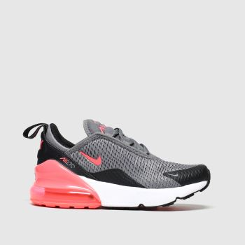Nike Grey Air Max 270 Girls Junior