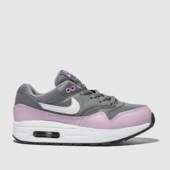 Nike Grey Air Max 1 Girls Junior