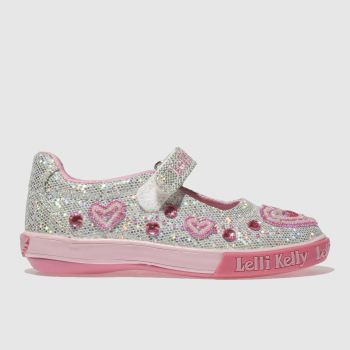 LELLI KELLY SILVER AVA DOLLY TRAINERS JUNIOR