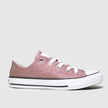 Converse Pink All Star Lo Space Star Girls Junior