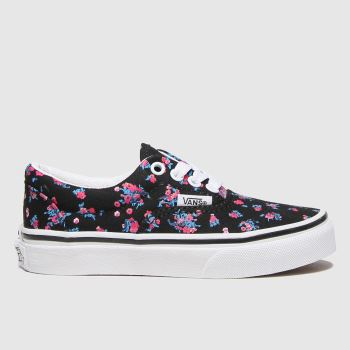 Vans Black & Red Era Girls Junior#