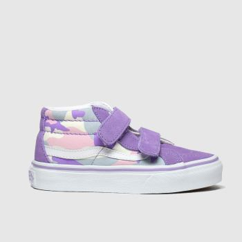 Vans Purple Sk8-Mid Reissue Girls Junior