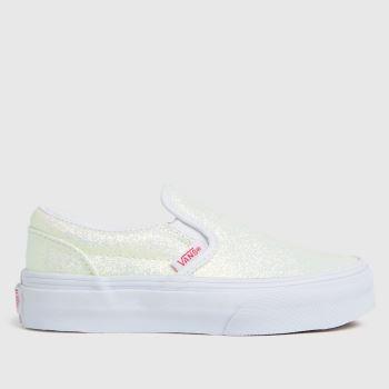 Vans Pale Pink Classic Slip-on Girls Junior