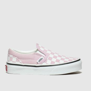 Vans Pink Classic Slip-on Girls Junior#