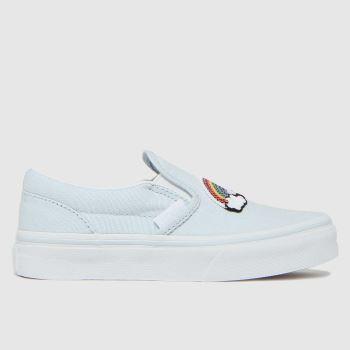 Vans Pale Blue Classic Slip-on Girls Junior