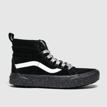 Vans Black & White Sk8-hi Girls Junior