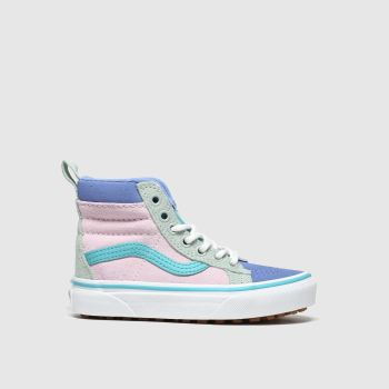 Vans Multi Sk8-hi Mte Girls Junior