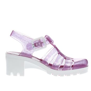JUJU JELLIES PURPLE BABE GIRLS JUNIOR SANDALS