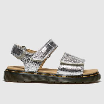 Dr Martens Silver Romi Girls Junior
