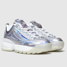 Kinder fila Silber Disruptor Ii Sneaker