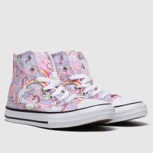 Converse All Star Hi Neon Unicorn 1