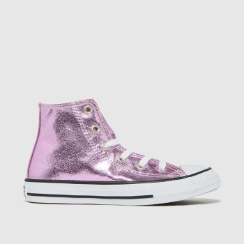 Converse Pale Pink Hi Digital Powder Girls Junior