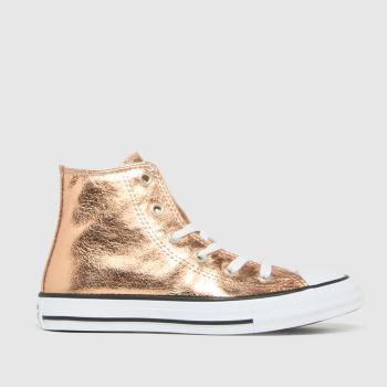 Converse Bronze Hi Digital Powder Girls Junior
