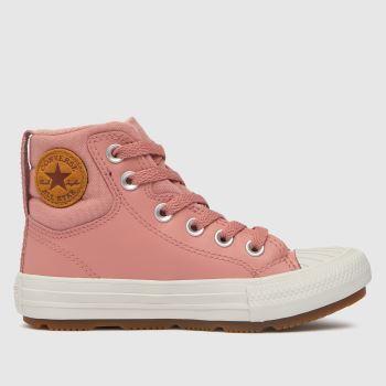 Converse Pale Pink Berkshire Boot Girls Junior